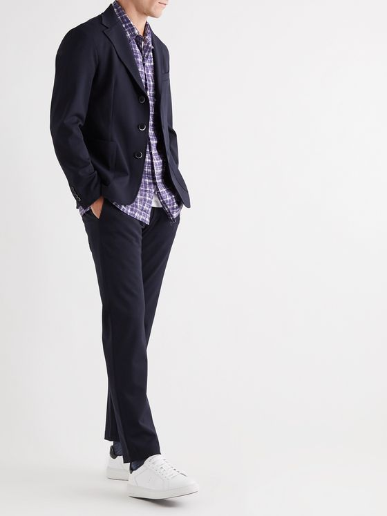 Barena Rionero Orza Tapered Twill Suit Trousers