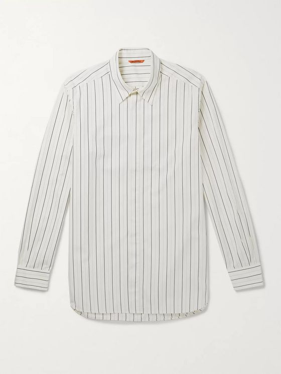 Barena Striped Cotton Shirt
