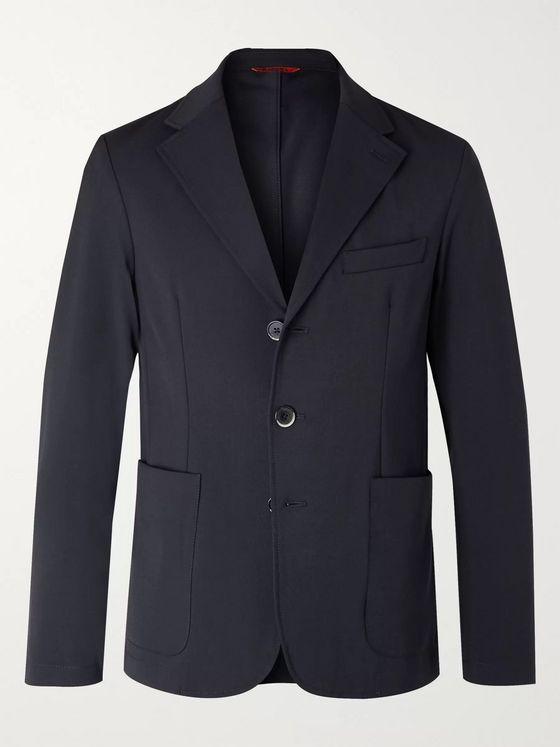 Barena Piero Orza Twill Suit Jacket