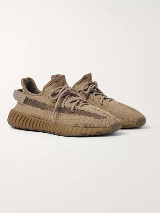 adidas Originals Yeezy Boost 350 V2 Mesh-Trimmed Primeknit Sneakers