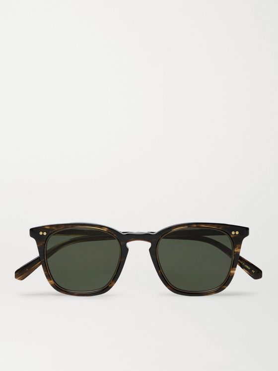 Mr Leight Getty S Square-Frame Tortoiseshell Acetate Sunglasses