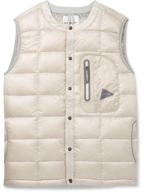 And Wander Quilted PERTEX QUANTUM Down Gilet