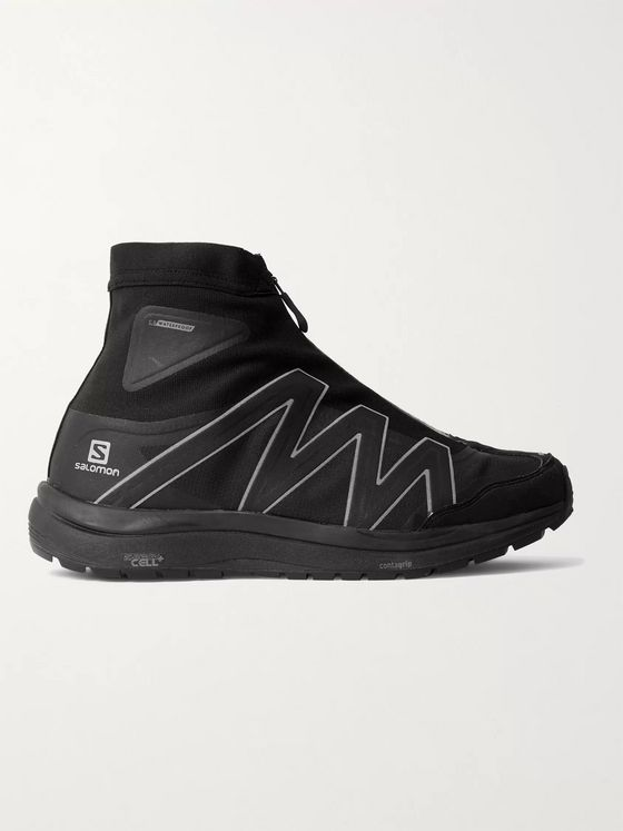AND WANDER + Salomon Rubber-Trimmed Ripstop Sneakers