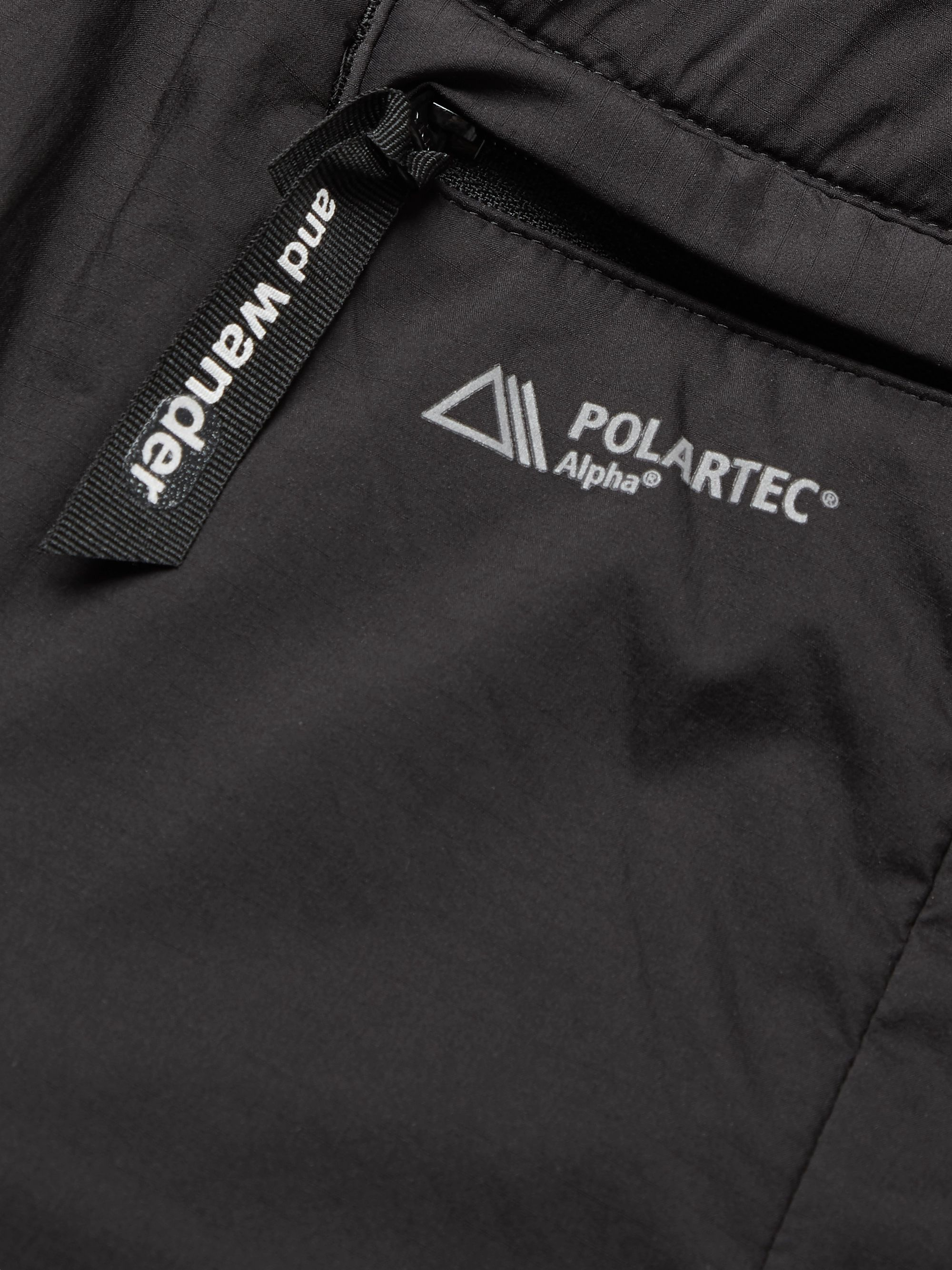AND WANDER Alpha Padded Polartec Pertex Nylon Trousers