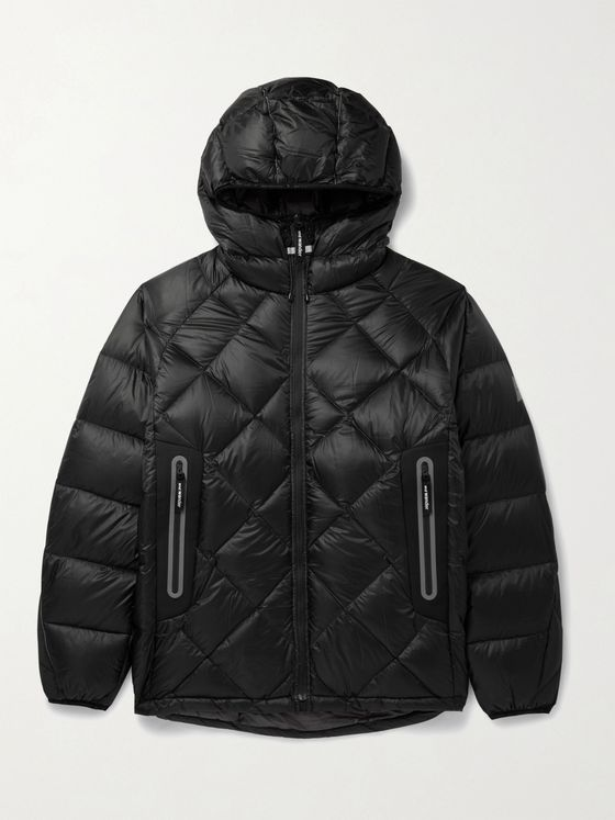 AND WANDER Quilted PERTEX QUANTUM Hooded Down Jacket