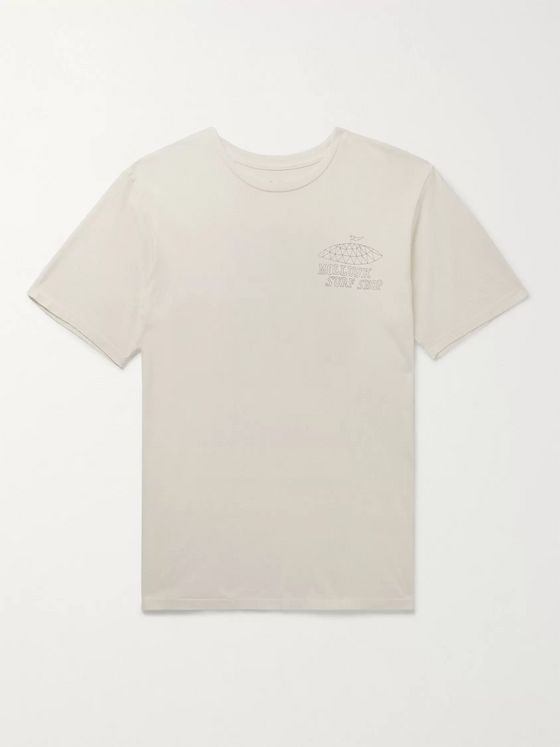 Mollusk Shack Printed Cotton-Jersey T-Shirt