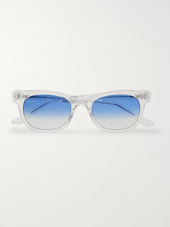 E.B. Meyrowitz The Fifth Avenue Square-Frame Acetate Sunglasses