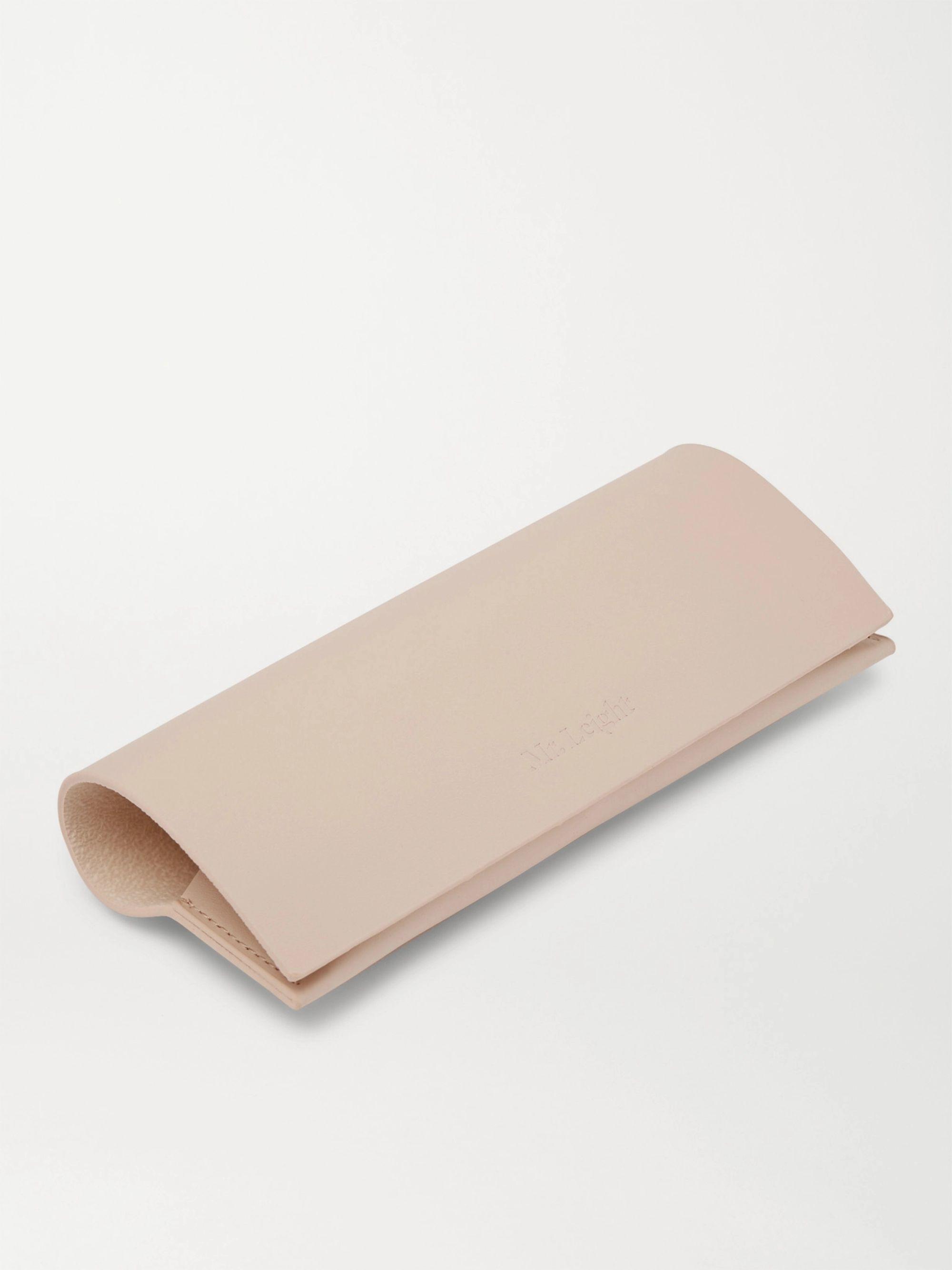 Black Getty S Square-frame Acetate And Titanium Sunglasses | Mr Leight