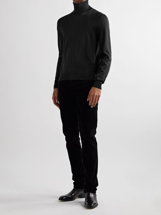 TOM FORD Slim-Fit Knitted Rollneck Sweater