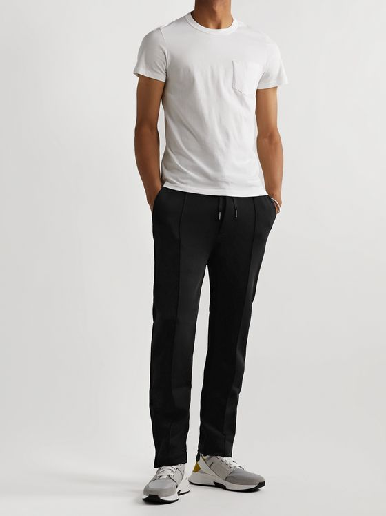 TOM FORD Slim-Fit Stretch-Jersey Drawstring Sweatpants