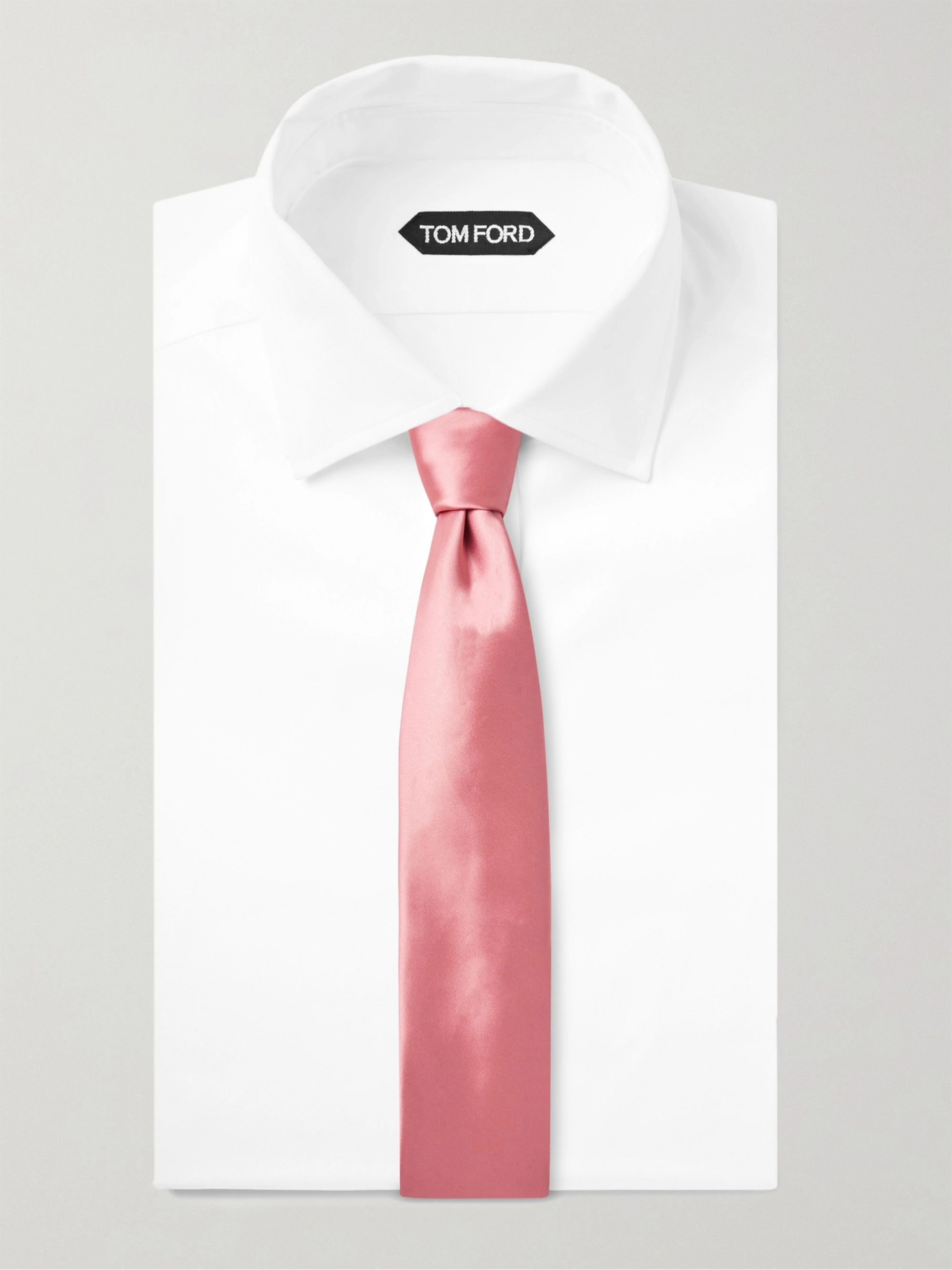 TOM FORD 8.5mm Satin Tie