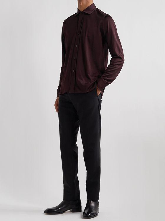TOM FORD Slim-Fit Jersey Shirt
