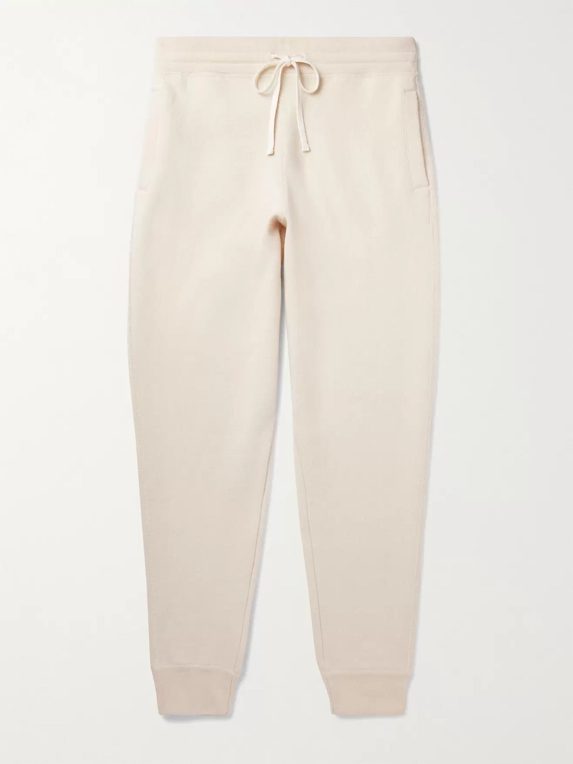 Tom Ford Tapered Cashmere-blend Sweatpants In Neutrals