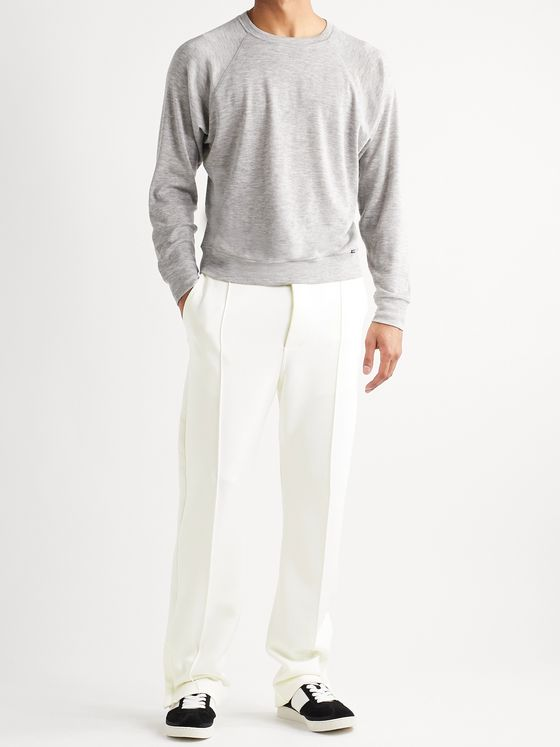 TOM FORD Stretch-Jersey Sweatpants