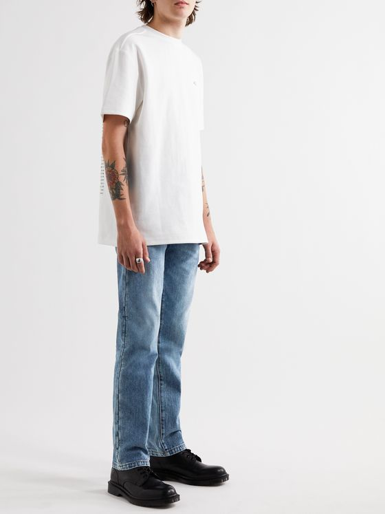 Ader Error Distressed Denim Jeans