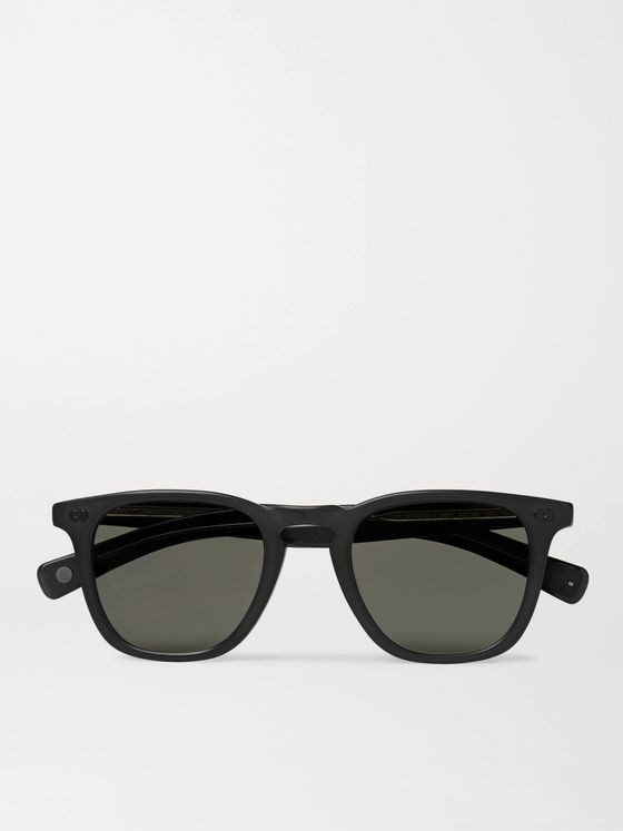 GARRETT LEIGHT CALIFORNIA OPTICAL Brooks X D-Frame Acetate Sunglasses