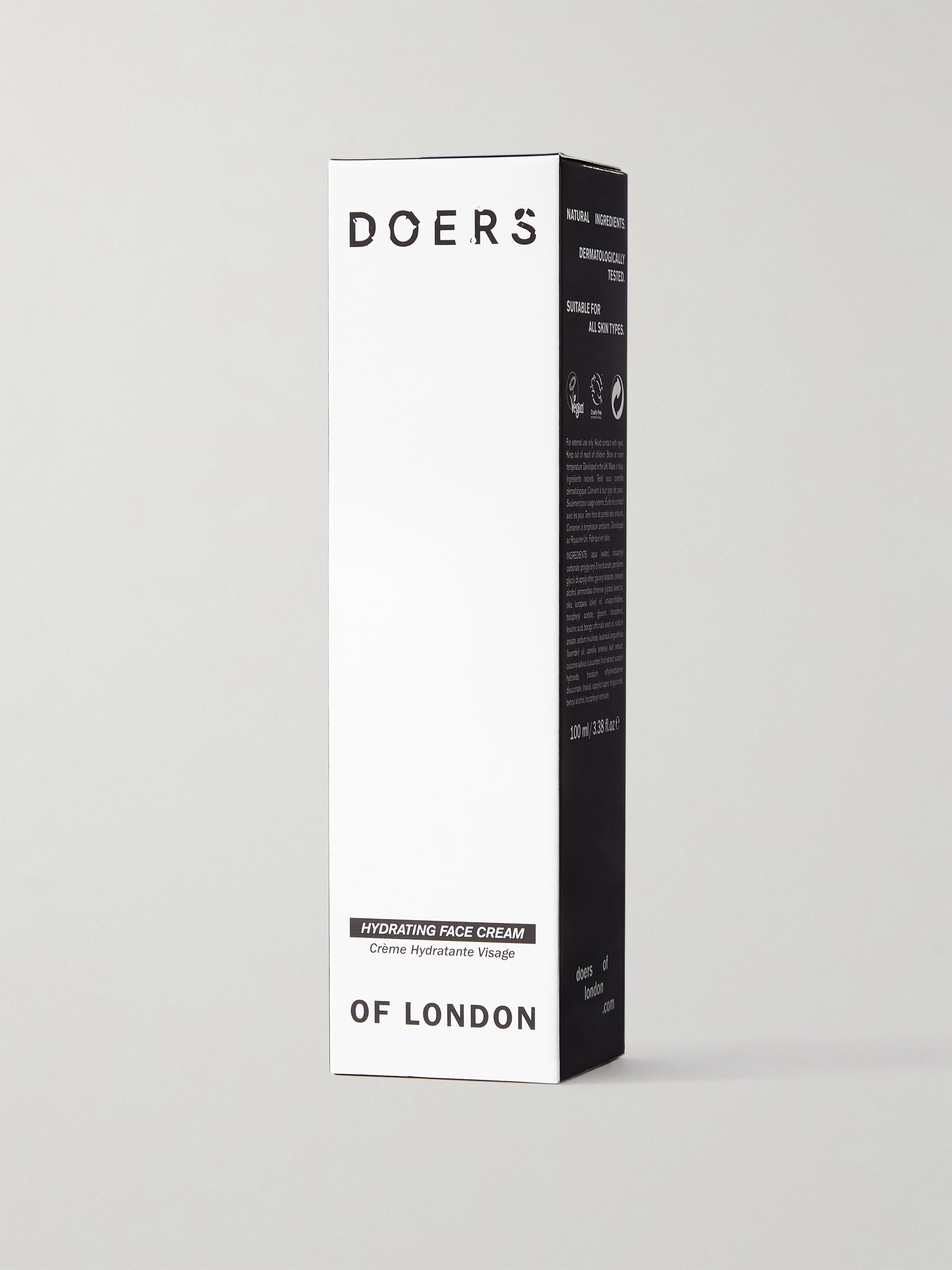 Doers of London Hydrating Face Cream, 100ml