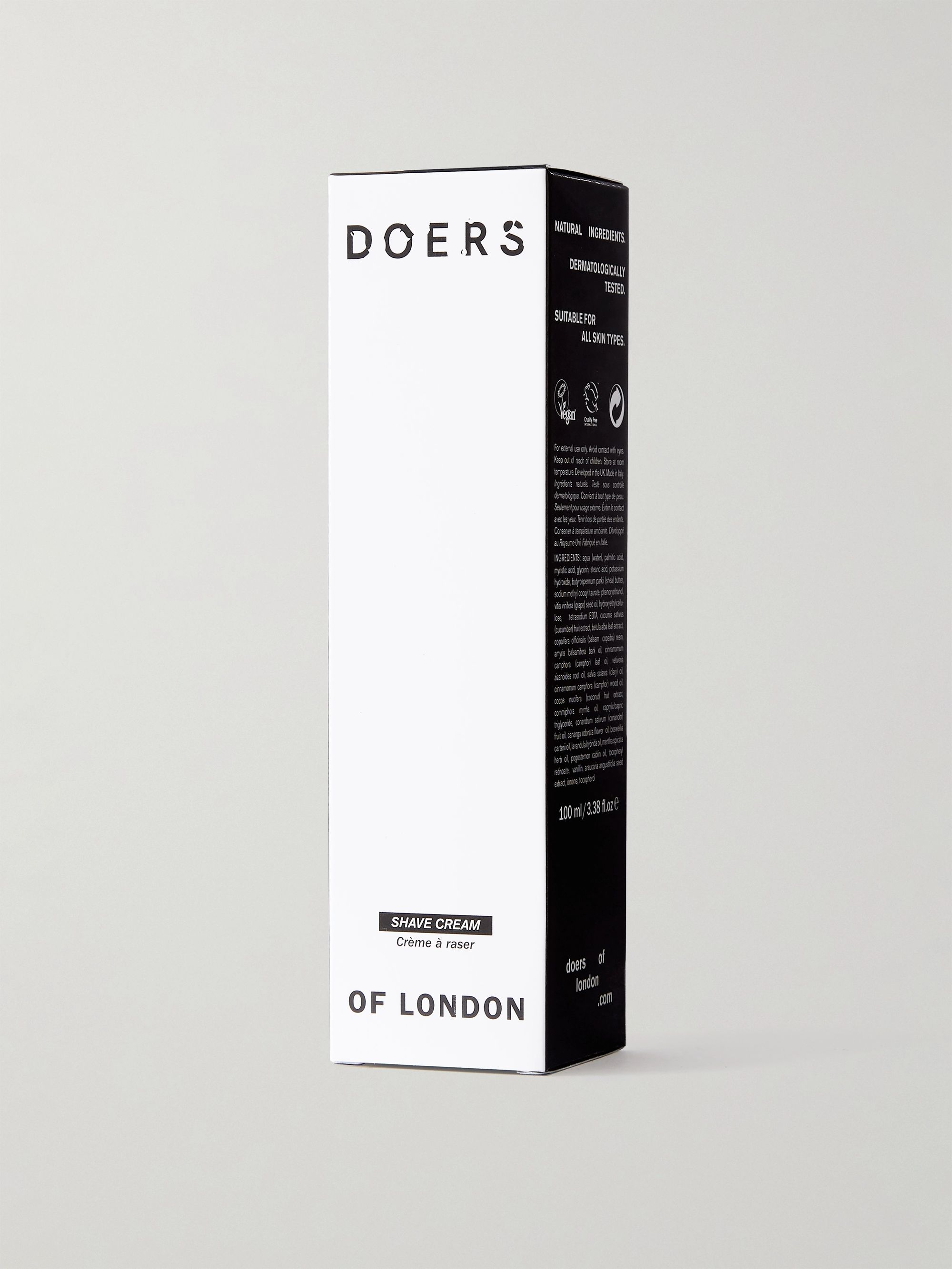 Doers of London Shave Cream, 100ml