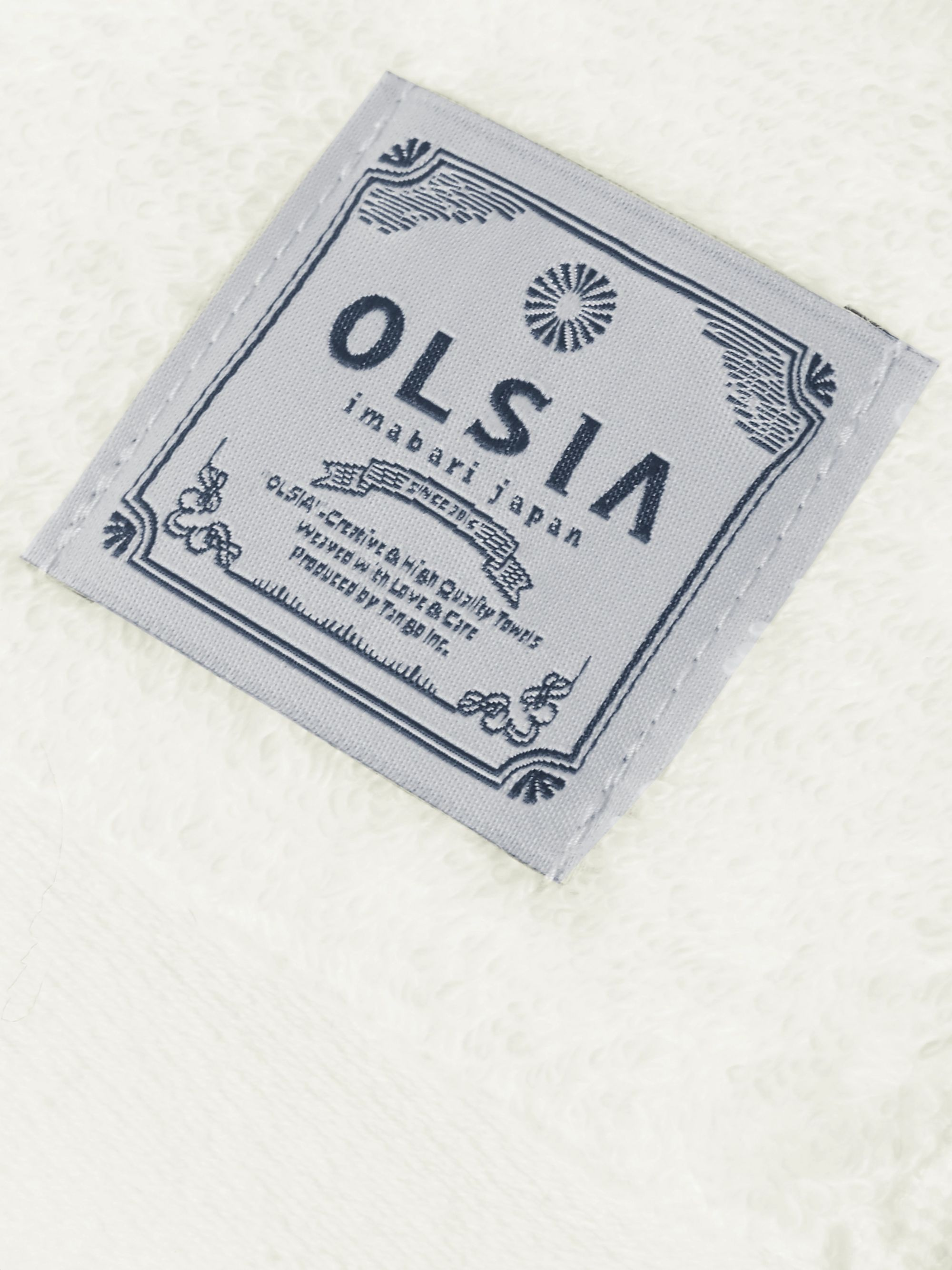 Japan Best + Olsia Organic Cotton-Terry Imabari Towel