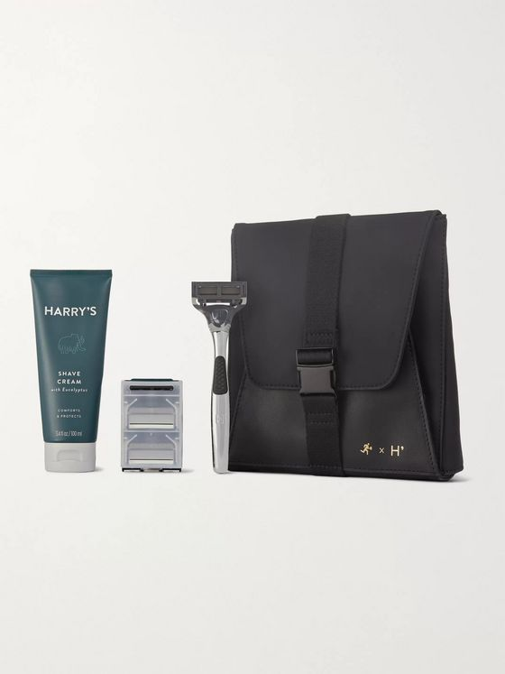 Harry's + WANT Les Essentiels Travel Shaving Set