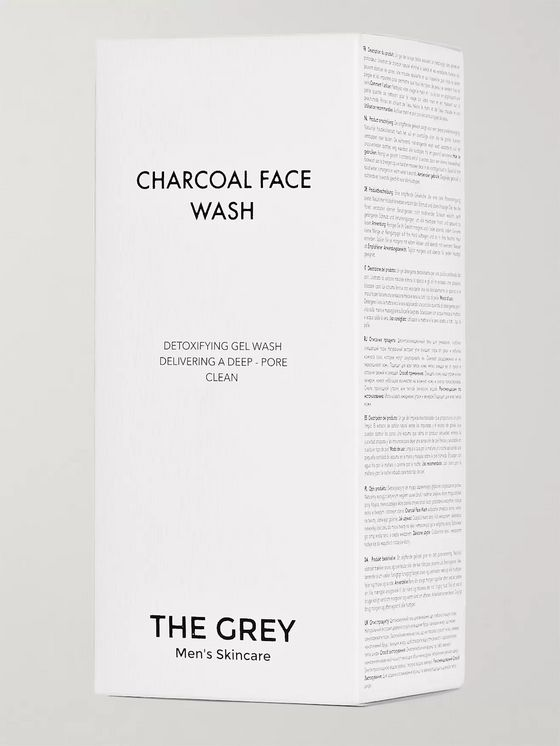 The Grey Men's Skincare Charcoal Face Wash, 100ml
