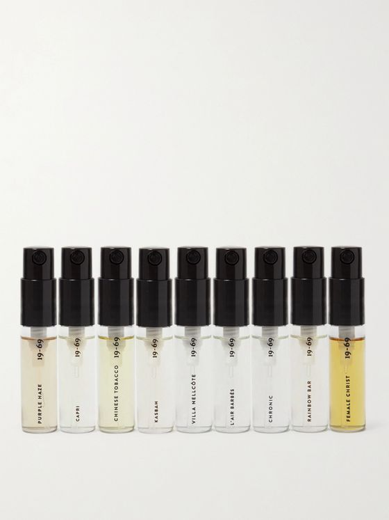 19-69 Fragrance Discovery Set, 8 x 1.8ml