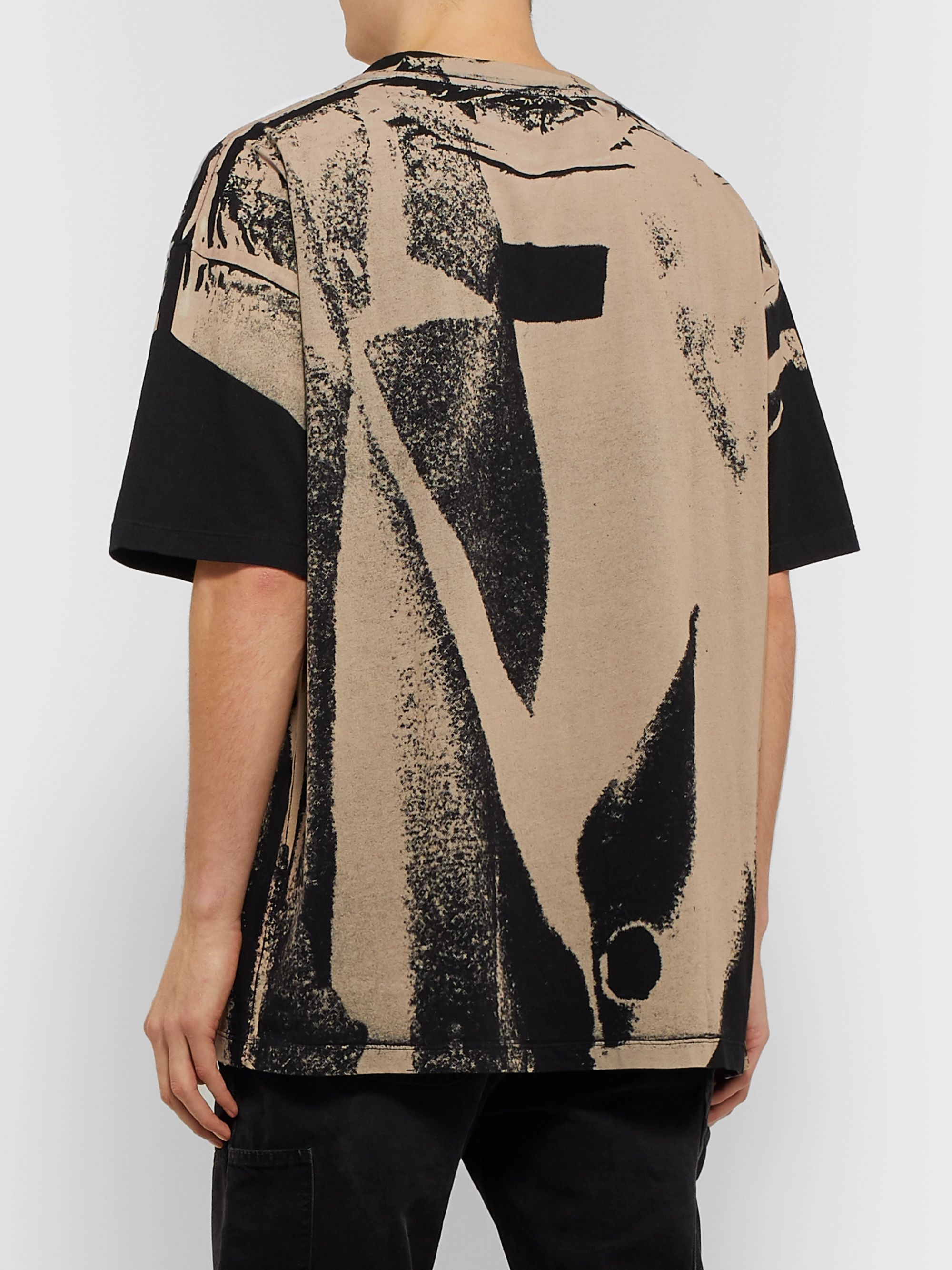 424 Oversized Printed Cotton-Jersey T-Shirt