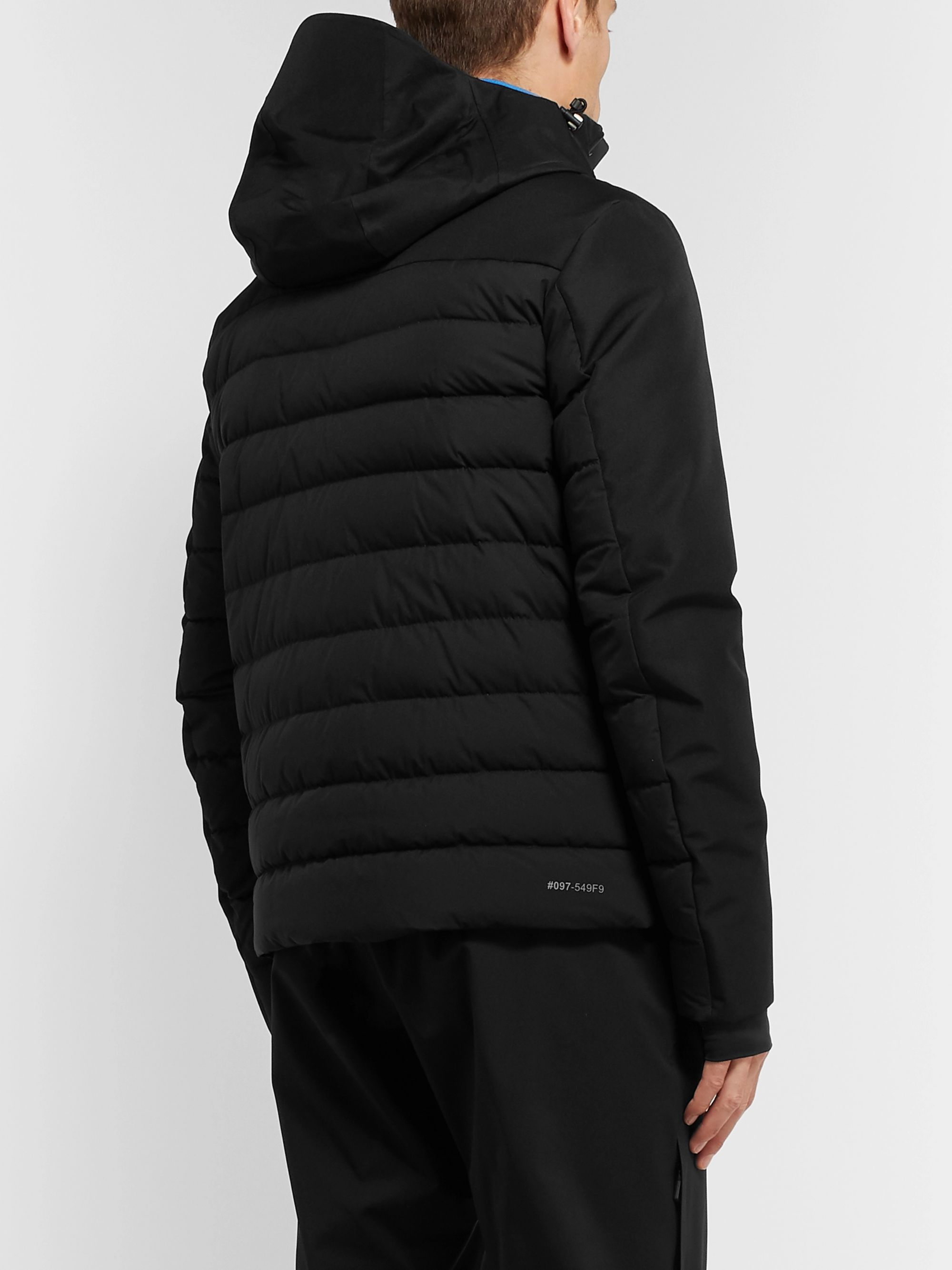 Moncler Grenoble Bessans Quilted GORE-TEX Hooded Down Ski Jacket