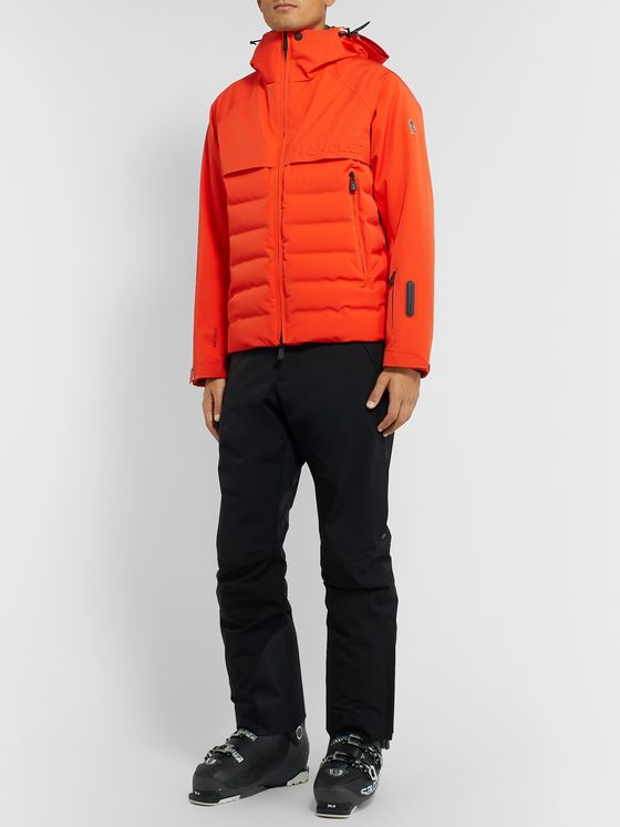 Moncler Grenoble Achensee Quilted Hooded Down Ski Jacket