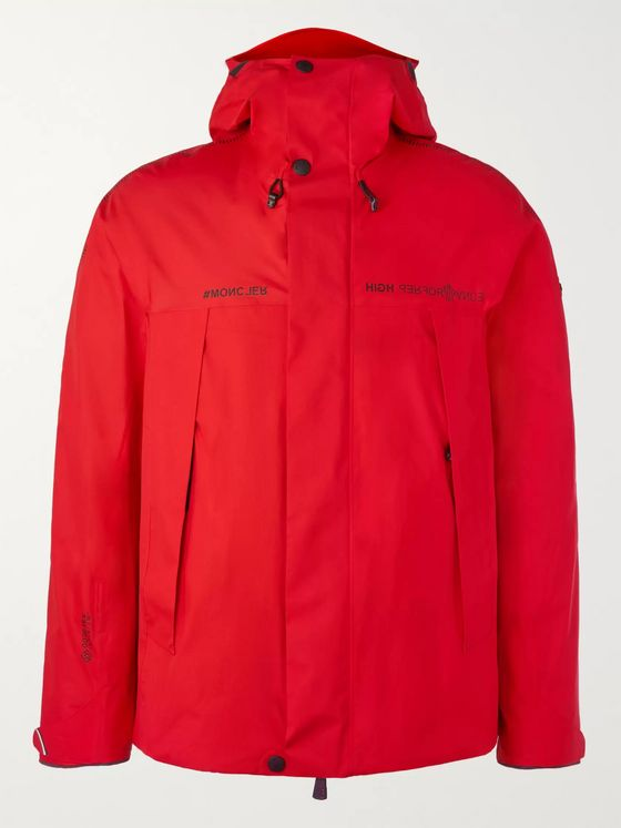 Moncler Grenoble Linth Shell Hooded Ski Jacket
