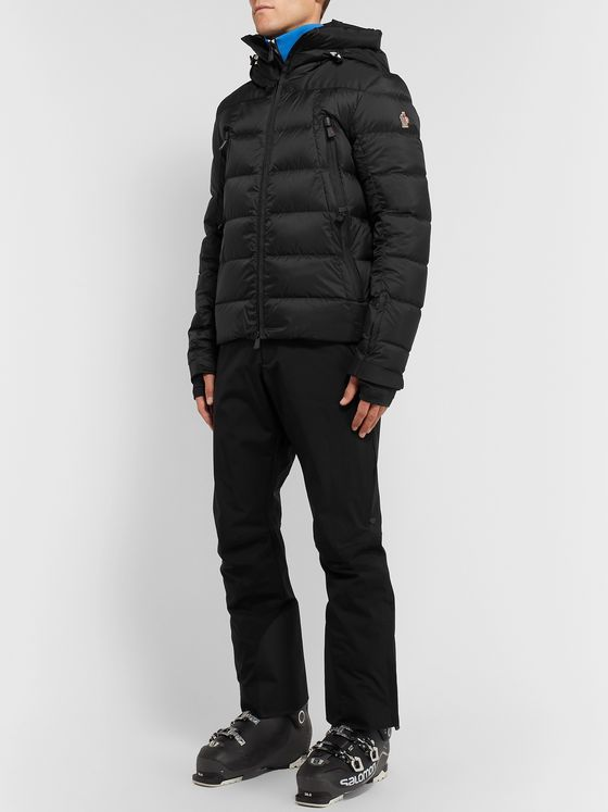 Moncler Grenoble Camurac Quilted Hooded Down Ski Jacket