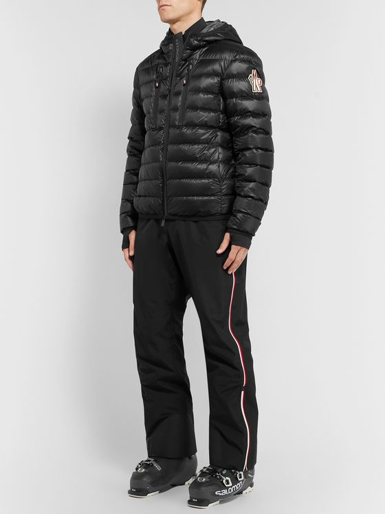 Moncler Grenoble Kavik Quilted Hooded Down Ski Jacket