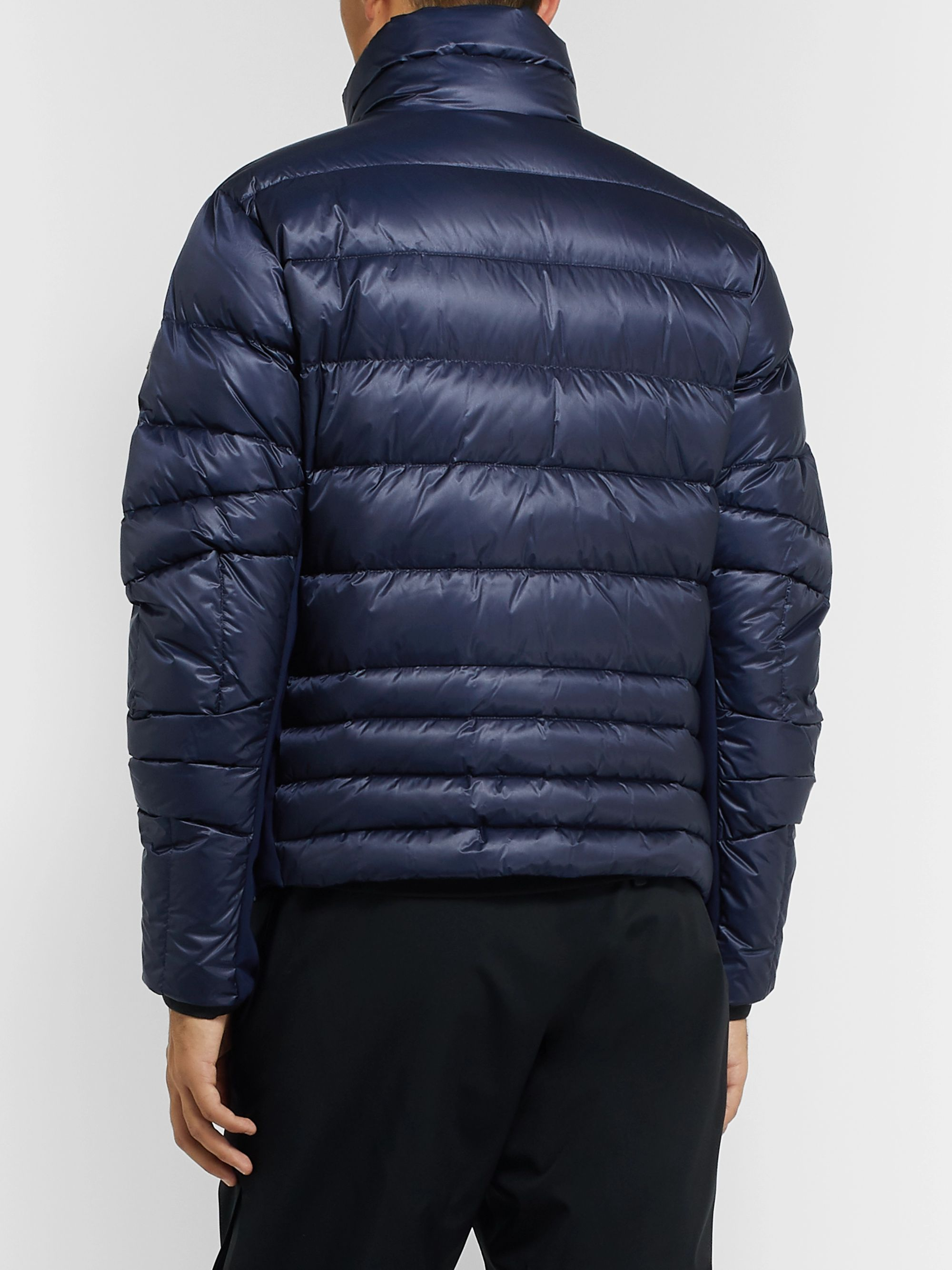 Moncler Grenoble Canmore Quilted Nylon Down Ski Jacket