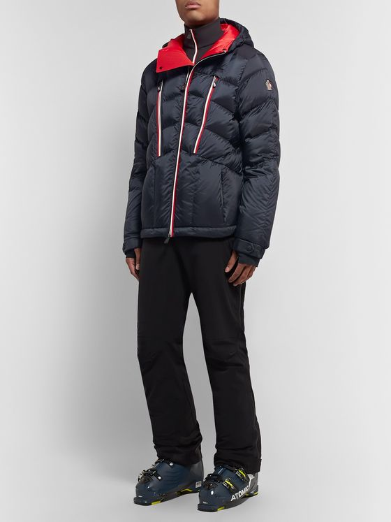 Moncler Grenoble Arnensee Slim-Fit Quilted Down Ski Jacket