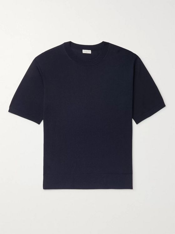 Dries Van Noten Knitted T-Shirt