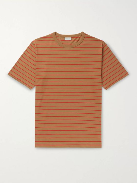 Dries Van Noten Slim-Fit Striped Cotton-Jersey T-shirt