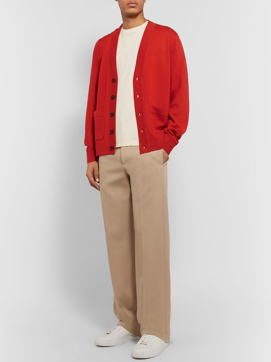 Dries Van Noten Merino Wool Cardigan