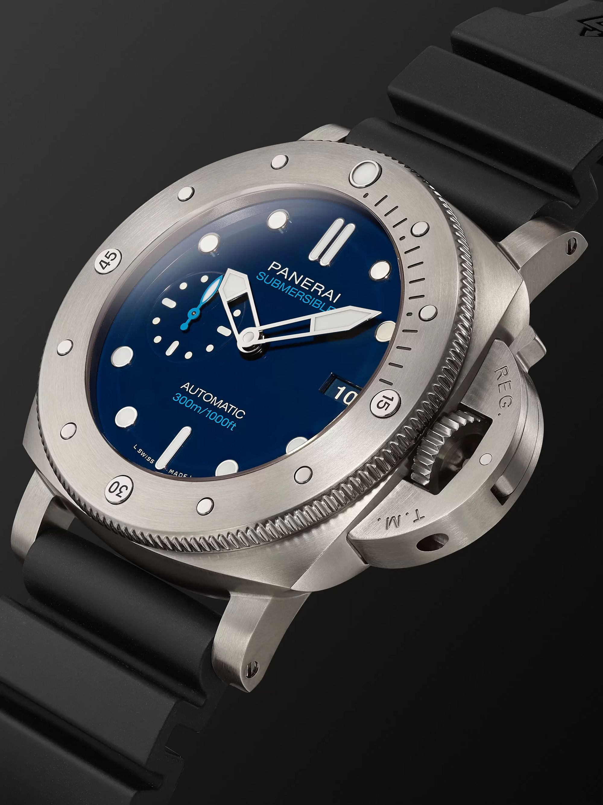 Panerai Submersible Automatic 47mm BMG-TECH and Rubber Watch