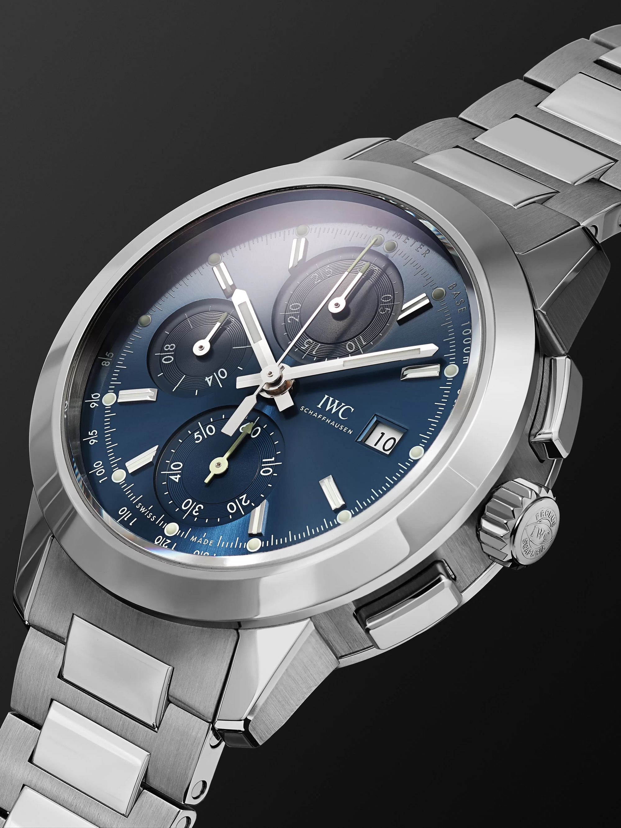 IWC SCHAFFHAUSEN Ingenieur Automatic Chronograph 42.3mm Stainless Steel Watch, Ref. No. IW380802