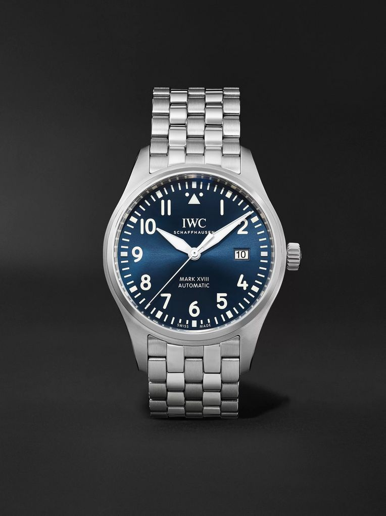 IWC SCHAFFHAUSEN Pilot's Mark XVIII Le Petit Prince Edition Automatic 40mm Stainless Steel Watch