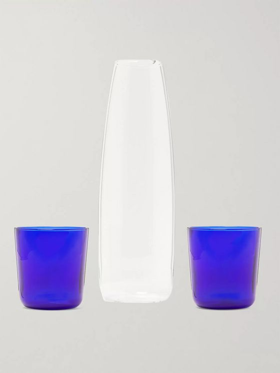R+D.LAB Luisa Carafe and Wine Glasses Set