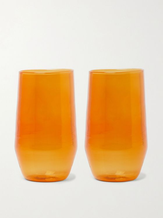 R+D.LAB Velasca Set of Two Amaro Glasses