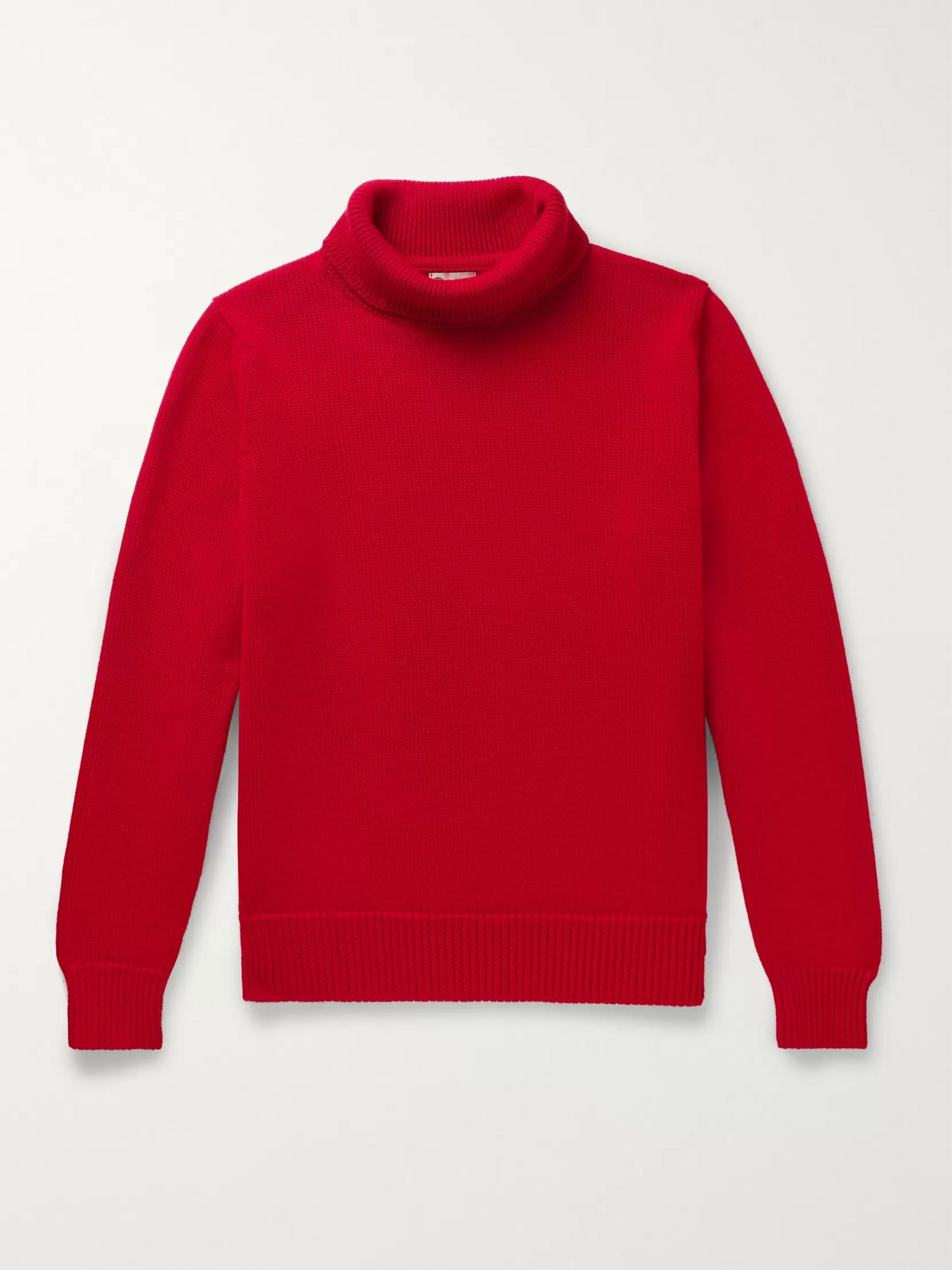 Connolly + Goodwood Merino Wool Rollneck Sweater