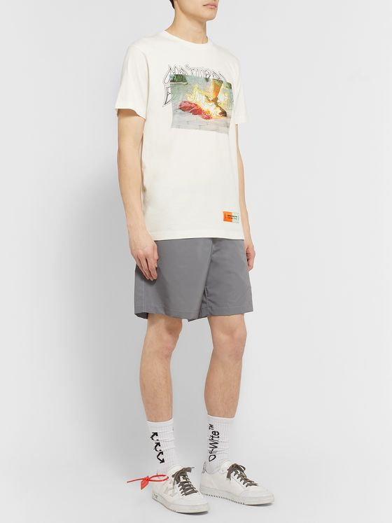 Heron Preston Printed Organic Cotton-Jersey T-Shirt
