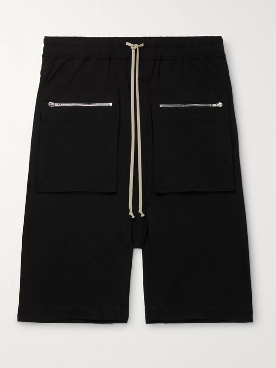 Rick Owens DRKSHDW Cotton Drawstring Shorts