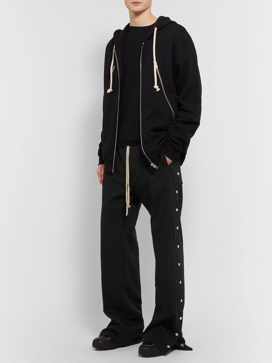 Rick Owens DRKSHDW Pusher Cotton Sweatpants