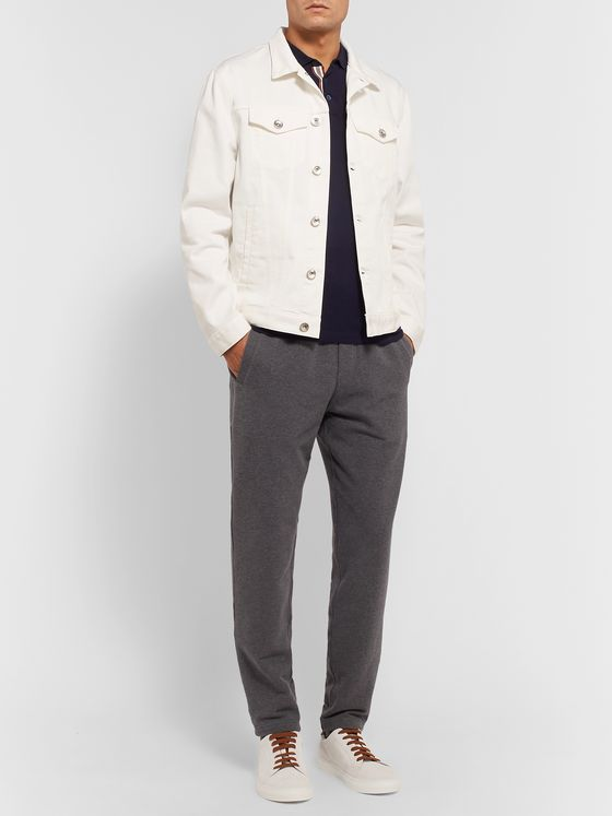 Brunello Cucinelli Denim Trucker Jacket