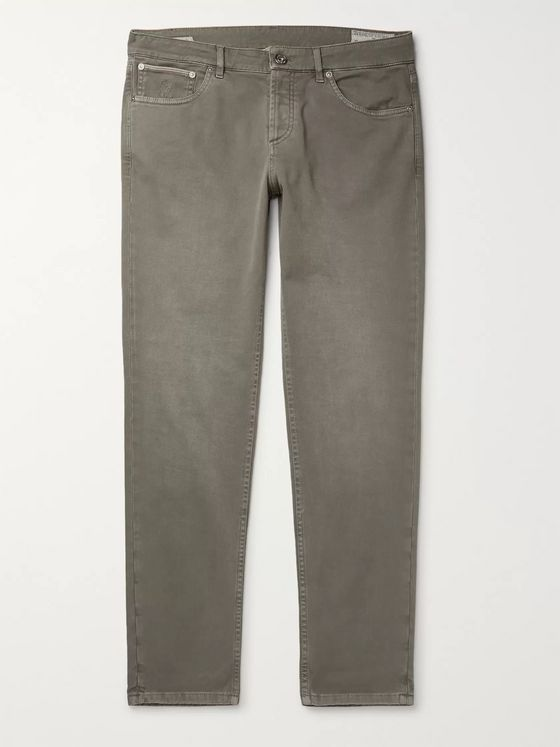 Brunello Cucinelli Stretch-Denim Jeans
