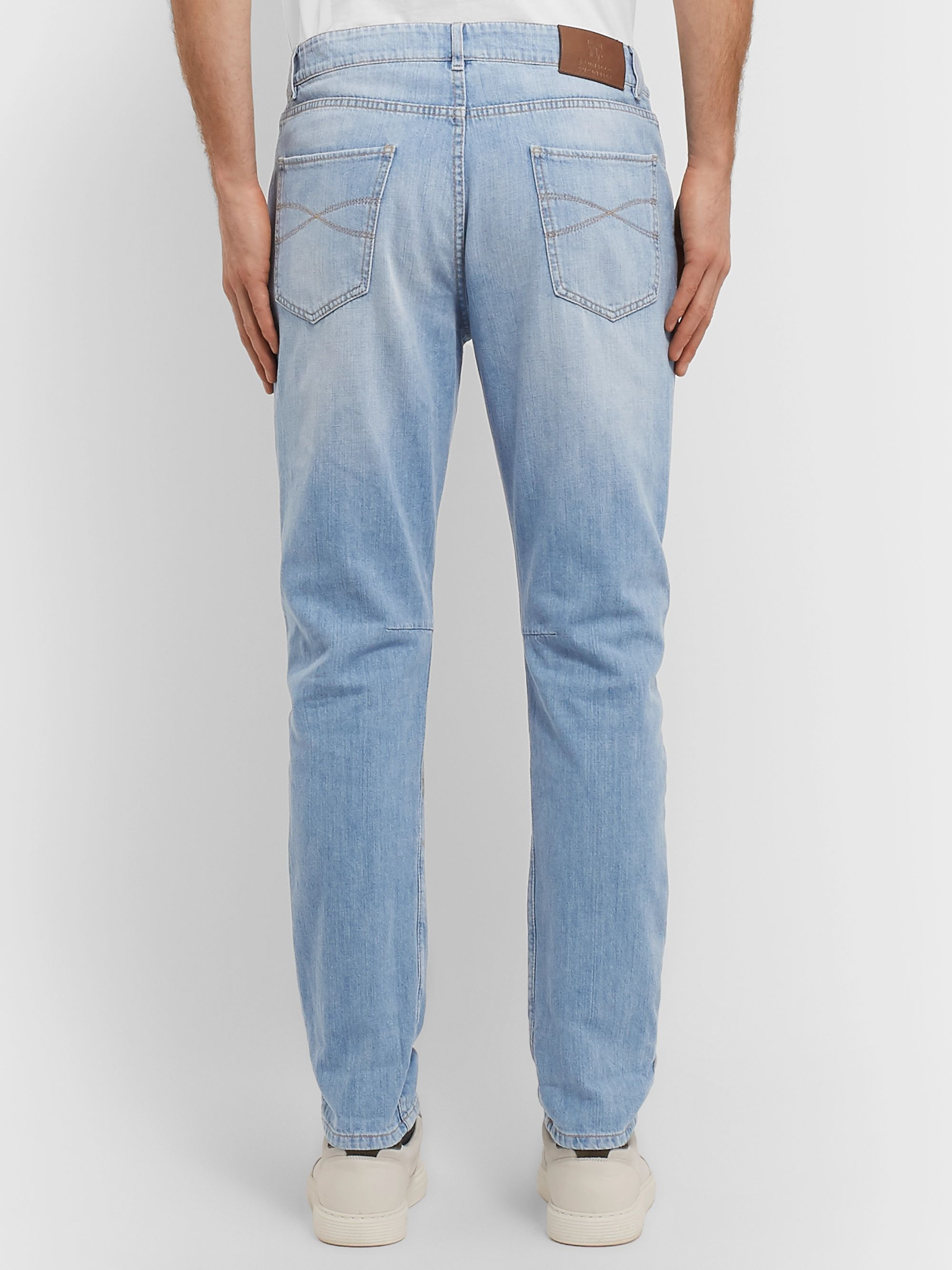 Brunello Cucinelli Slim-Fit Denim Jeans