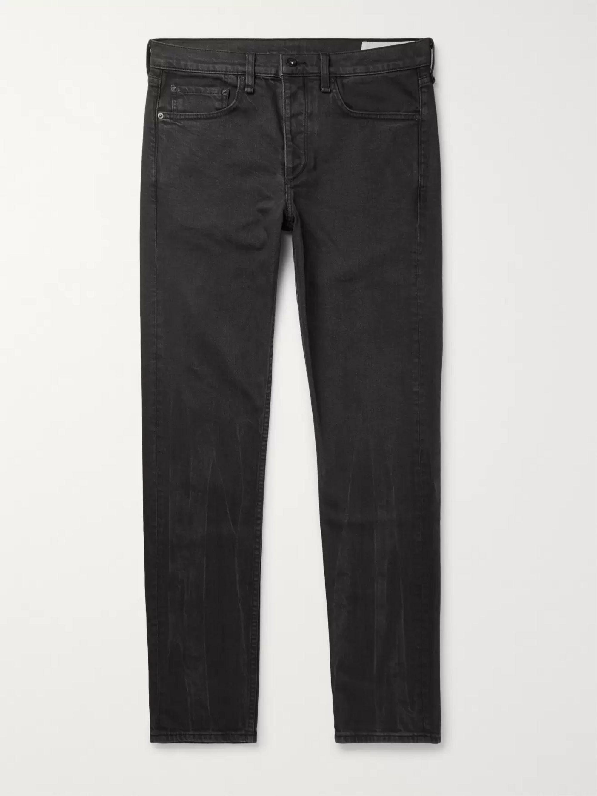 rag & bone Fit 2 Slim-Fit Washed Stretch-Denim Jeans